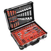 HR 170822 Εργαλειοθήκη αλουμινίου με 120 εργαλεία