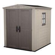Keter Factor 6X6 Αποθήκη κήπου με δίφυλλη πόρτα