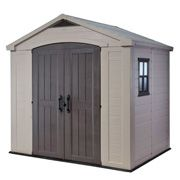 Keter Factor 8X6 Αποθήκη κήπου με δίφυλλη πόρτα
