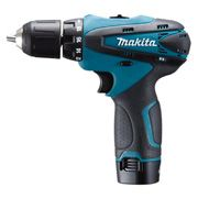 Makita DF330DWE Δραπανοκατσάβιδο μπαταρίας 10,8 Volt με 2 μπαταρίες