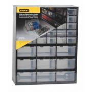 Κουτί αποθήκευσης πολλαπλών χρήσεων με 30 μικρά και  9 μεγάλα συρτάρια Stanley (1-93-981)