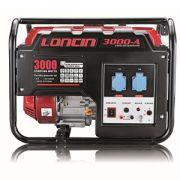 Βενζινοκίνητη μονοφασική γεννήτρια Loncin LC 3000-A