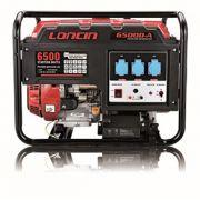 Βενζινοκίνητη μονοφασική γεννήτρια Loncin LC6500-A